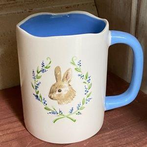 Magenta Bunny Rabbit Ceramic 16oz Mug
